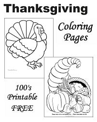 thanksgiving coloring sheets free printable