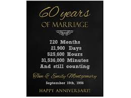 60 year wedding anniversary 60 year wedding anniversary gift 60th anniversary printable