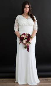 wedding dresses plus size aisle wedding gown kiyonna clothing