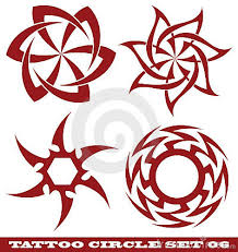a perfect circle tattoo design on back photos pictures and