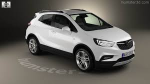 360 View Of Vauxhall Mokka X 2017 3d Model Hum3d Store