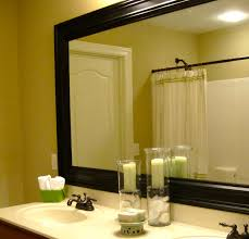 Framing A Bathroom Mirror With Moulding Home Design