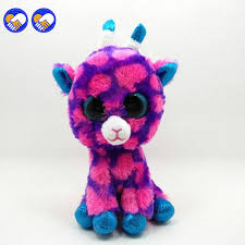 toy dream ty beanie boos big eyes small unicorn plush toy