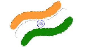 Indian Flags Wallpapers For Desktop Download 2048x1152 Indian Flag Digital Art Wallpaper