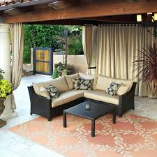 patio ideas awesome patio with chic decor and seating idea for