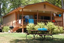 Backyard Cabin Our Cabins Hickory Hollow Resort Table Rock Lake Shell Knob Mo