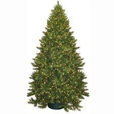 general foam 9 ft pre lit carolina fir artificial tree