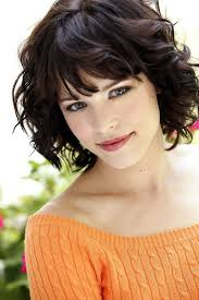above shoulder hair cuts above the shoulder haircuts with side bangs for women with curly
