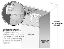 Levolor Vertical Blinds Installation Instructions How To Measure Cellular Shades Levolor Jcpenney Com