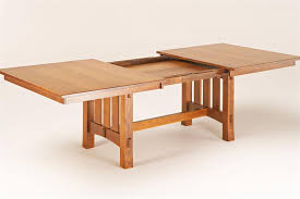 mission style coffee table light oak arts and crafts dining table plans home design ideas mission style