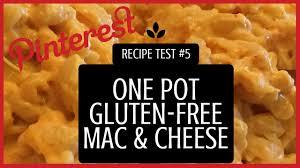 one pot gluten free mac u0026 cheese vegetarian gluten free