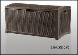 deck boxes u2013 quality resin storage solutions cheap sheds