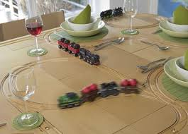 train and track table tracktile tables toy train track tables detail awesomely