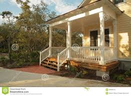house front porch front porch of yellow house stock photos image 38008143