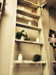 11 leaning ladder shelf ideas including 5 handmade versions