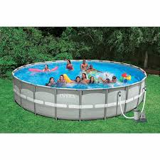 Hidden Patio Pool Cost by Amazon Com Intex 26 Feet X 52 Inches Above Ground Ultra Frame