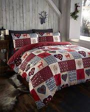 Santa Duvet Cover Thru The Lens Stag Red Hearts Super King Quilt Duvet Cover And 2