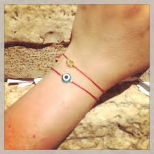 evil eye hand bracelet images Men 39 s evil eye red string bracelet dana levy ltd JPG