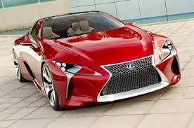 sporty toyota cars lexus debuts lf lc sporty 2 2 hybrid coupe concept car at 2012