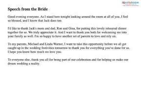 thank you speech for wedding midway media