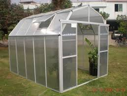 Hobby Greenhouses Doors Small 10mm Uv Twin Wall Polycarbonate Barn Hobby Greenhouse