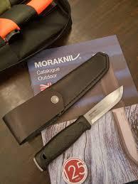 meeting the rep for mora knives in malaysia morakniv