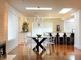 chaise de cuisine transparente chaise de cuisine transparente idées décoration intérieure