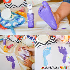 Hand Crafts For Kids To Make - handprint and footprint flowers and vase an adorable craft for