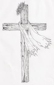 wooden cross drawing search wooden