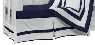 amazon com baby doll bedding modern hotel style crib bumper