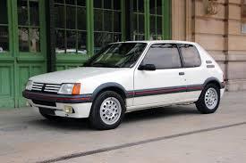 peugeot grey 1987 peugeot 205 gti 1 6 classic driver market