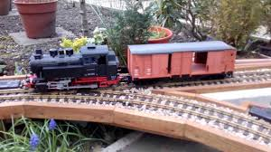 automation of g scale garden model railway layout youtube