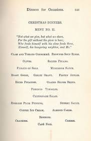 what to for dinner fannie farmer 1905 menus with recipes