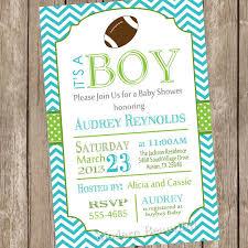 football baby shower football baby shower invitations blueklip