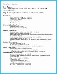 nicu resume resumes for nurses sle resume for nurses resume nurses sle