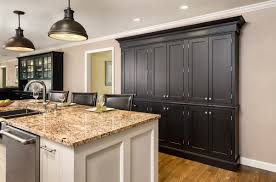 Painting Stained Kitchen Cabinets Painting Cherry Kitchen Cabinets White Awsrx Com