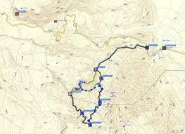 Death Valley Map Bluugnome Com Canyoneering Darwin Falls Canyon Death Valley