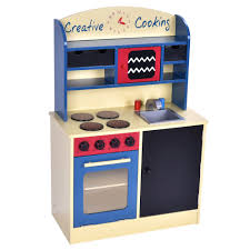 wood kitchen toy kids cooking pretend play set toddler wooden