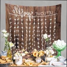 decoration for engagement party at home rustic wedding decorations rustic wedding engagement decor ideas