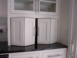 Cabinet Designs For Kitchens Recycle Bifold Doors Doors Appliance Lift Double Wide Tambour