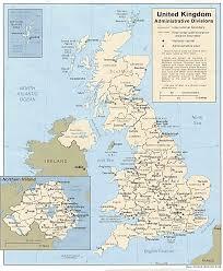 map uk ireland scotland united kingdom county map including scotland ireland