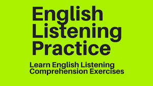 english listening practice learn english listening comprehension