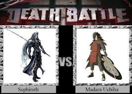 vs madara sephiroth vs madara uchiha by jasonpictures on deviantart