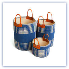wicker basket with leather handles canvas linen storage basket with handles laundry shoppe