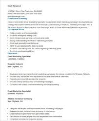 Resume Communication Skills Sample by Sample Marketing Skills Resume 8 Examples In Word Pdf