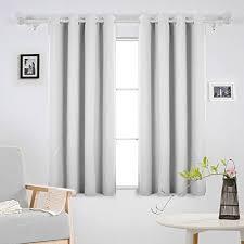 rideau pour chambre bébé deconovo lot de 2 rideaux occultants uni isolant thermique rideau