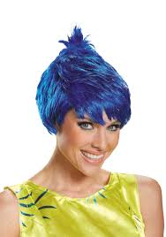 inside out costumes inside out wig