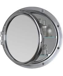 porthole mirrored medicine cabinet porthole bathroom cabinet 10 cool medicine cabinets ships ahoy
