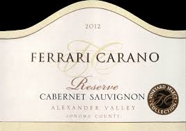 carano reserve cabernet 2012 carano reserve cabernet sauvignon wine library