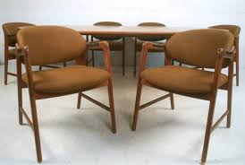 Mid Century Modern Homes For Sale Memphis by Mid Century Modern Teak Dining Set With Westnofa Chairs For Sale